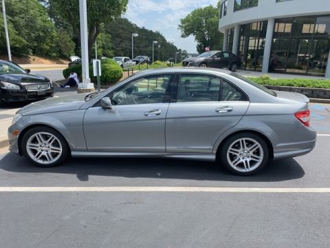 Pre-Owned 2010 Mercedes-Benz C-Class C 350 Sport